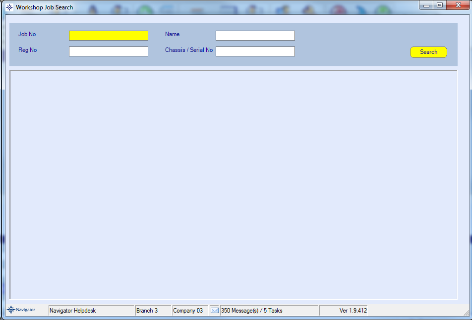 EPOS job search screen